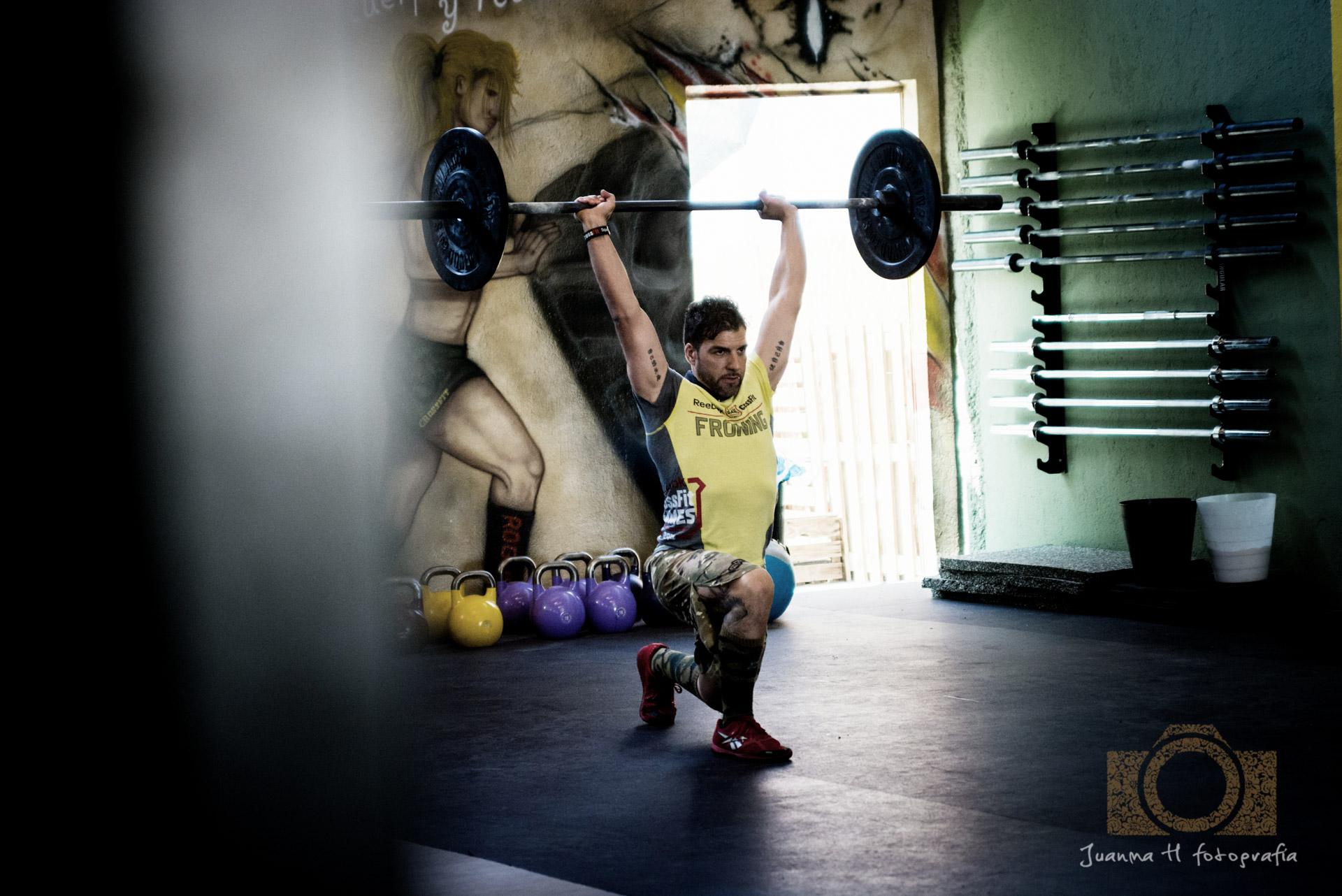 Ejercicios funcionales CrossFit Fuenlabrada